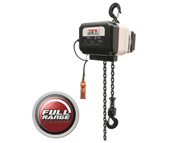 JET® VOLT TRUE VARIABLE-SPEED ELECTRIC CHAIN HOISTS