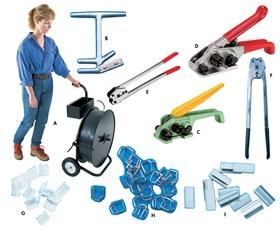POLY STRAPPING TOOLS AND ACCESSORIES
